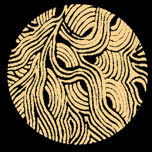 circle pattern yellow